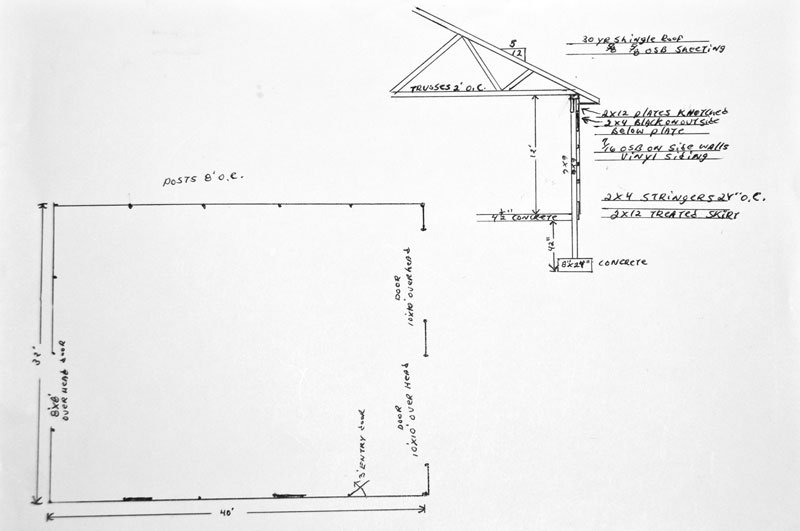 32x40 Pole Barn shop man cave The Garage Journal Board – 32X40 Garage Plans