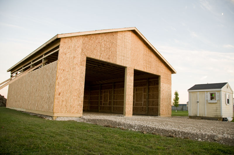 5 x 3 pole barn builders evansville indiana for Pole barn home kits indiana