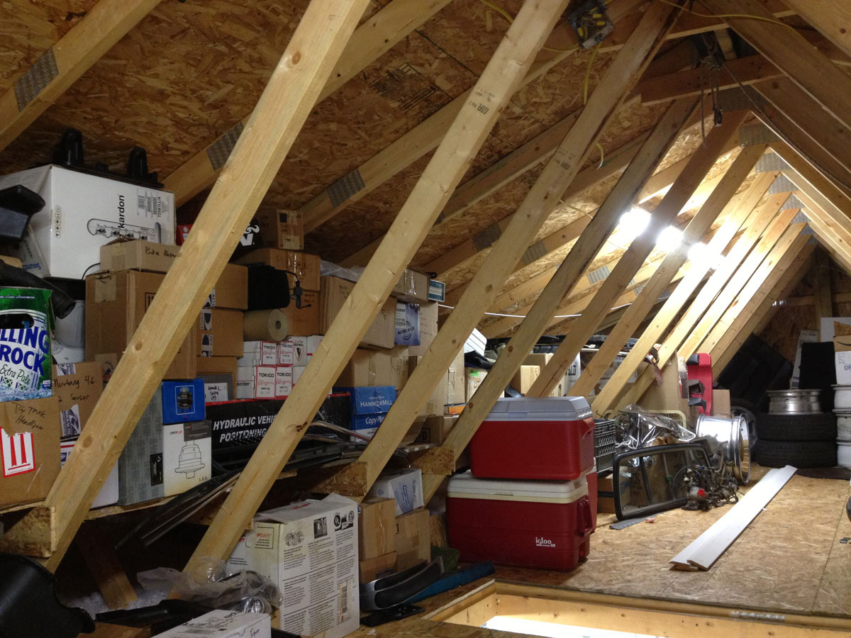 Attic Storage Ideas With Trusses Designs & Attic Storage Ideas With Trusses - Storage Designs