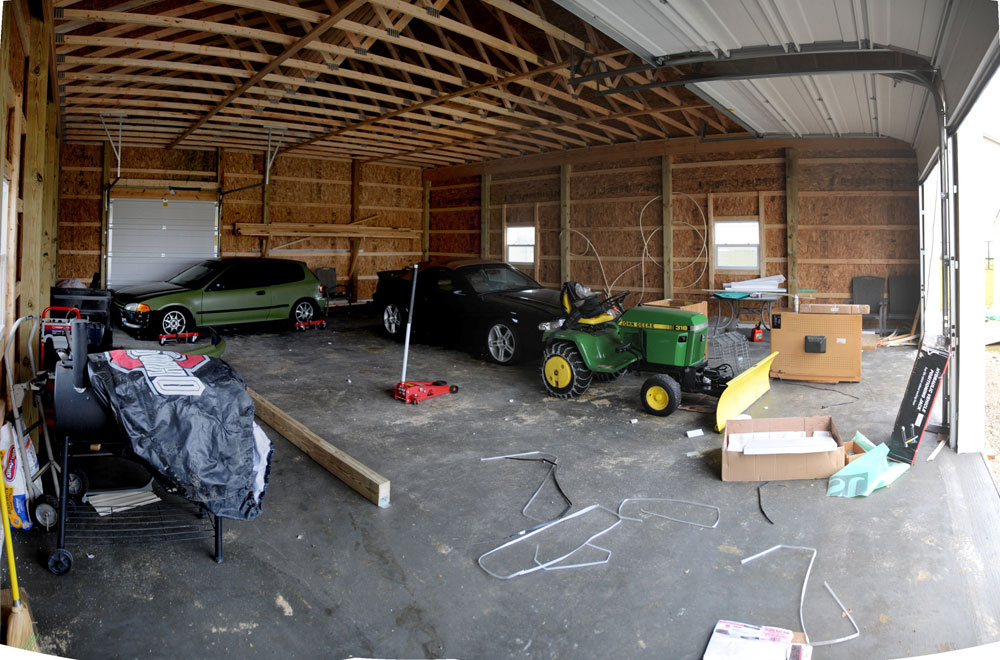 32x40 Pole Barn - shop / man cave - The Garage Journal Board