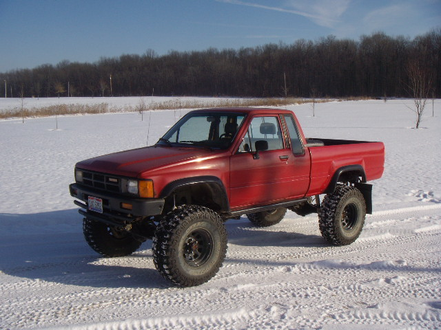... than I need but couldn't pass up a 99% rust free Yota in Ohio