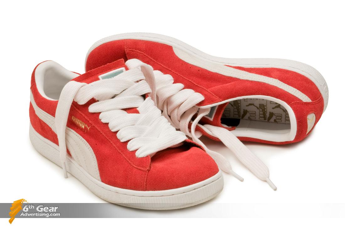 Red Puma Shoes