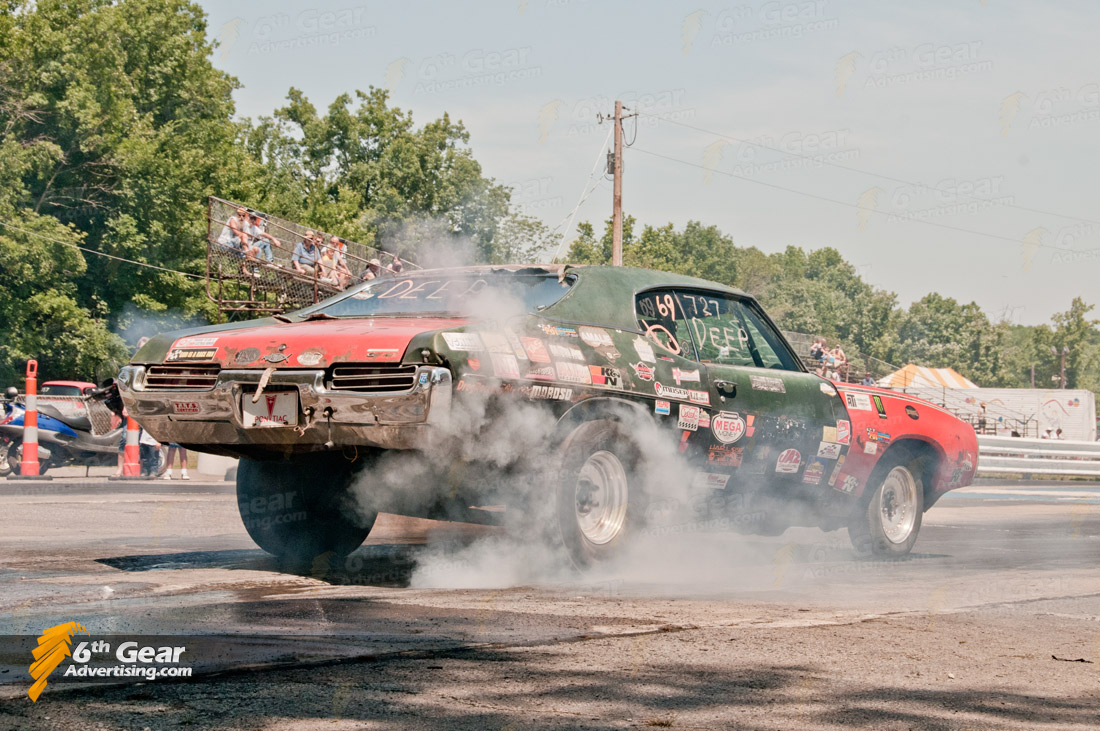 1969 Pontiac Lemans Burnout