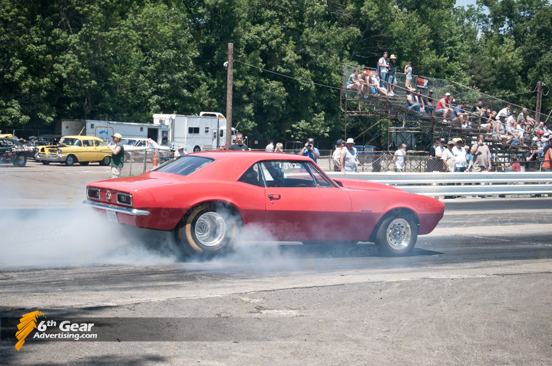 1967 Camaro Burnout
