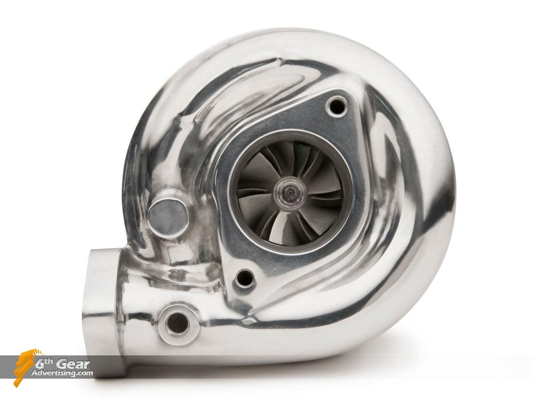 Polished T3 Turbocharger