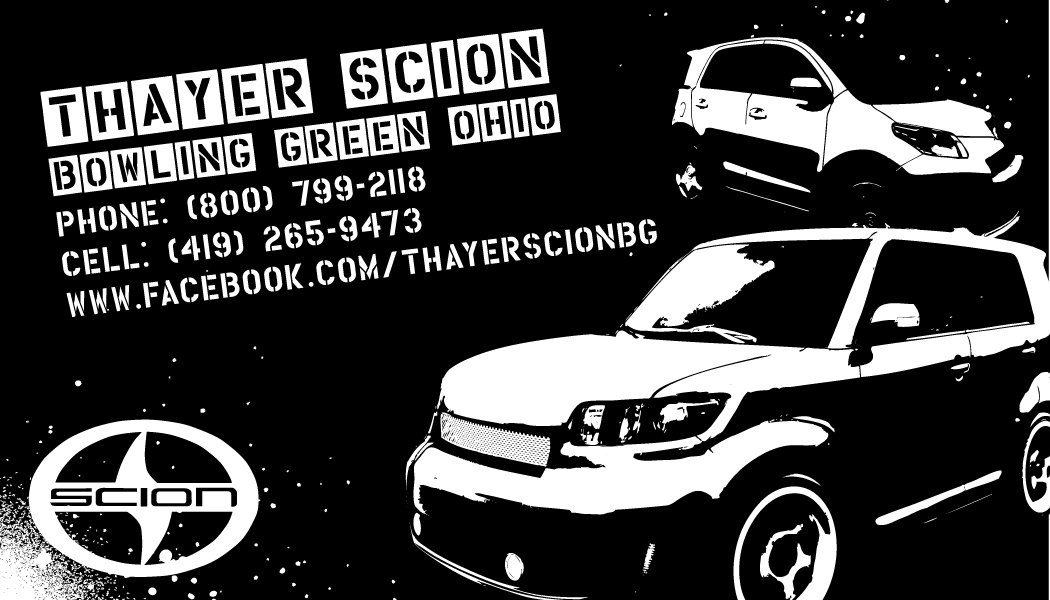 Thayer Scion Business Card