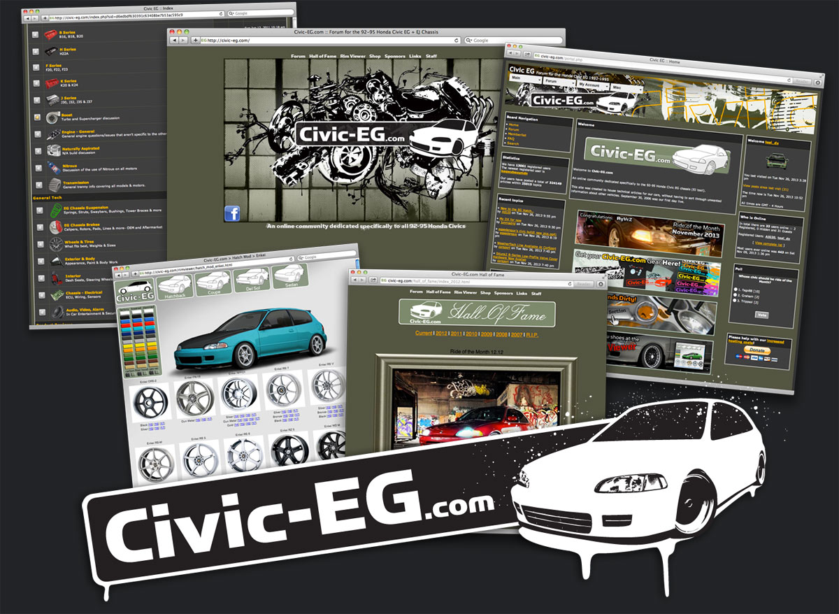 Civic EG online community.