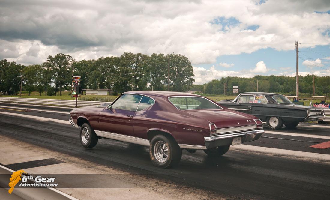 1969 Chevrolet Malibu Drag Racing
