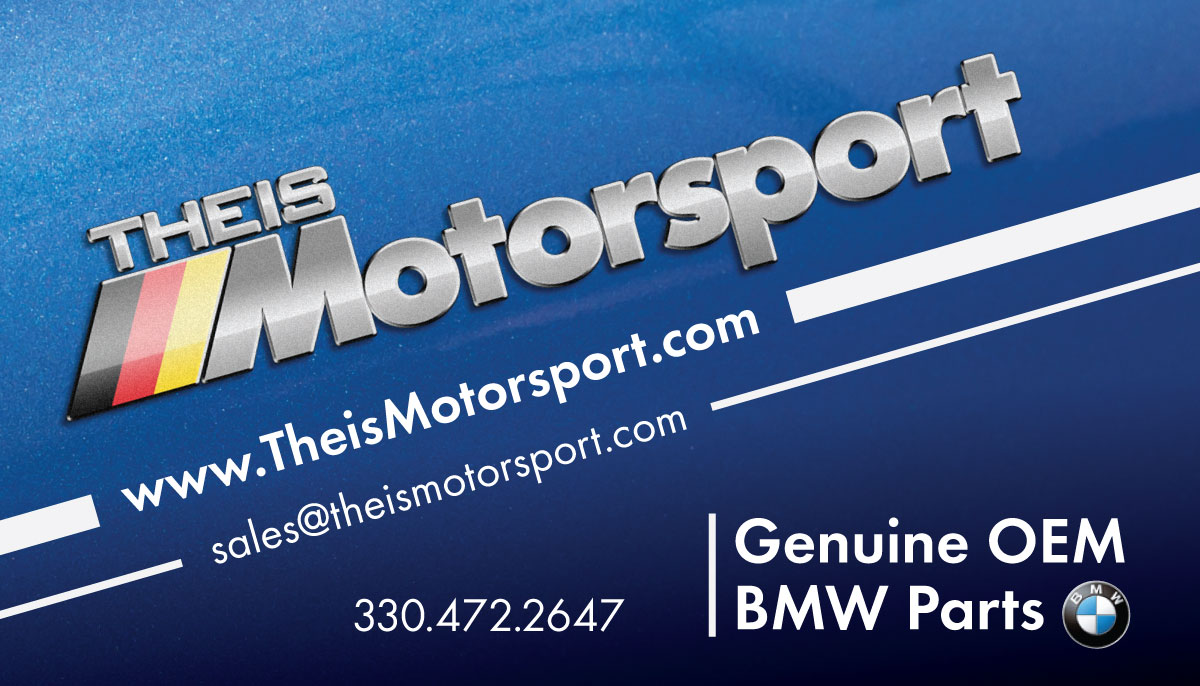 Theis Motorsport Business Card