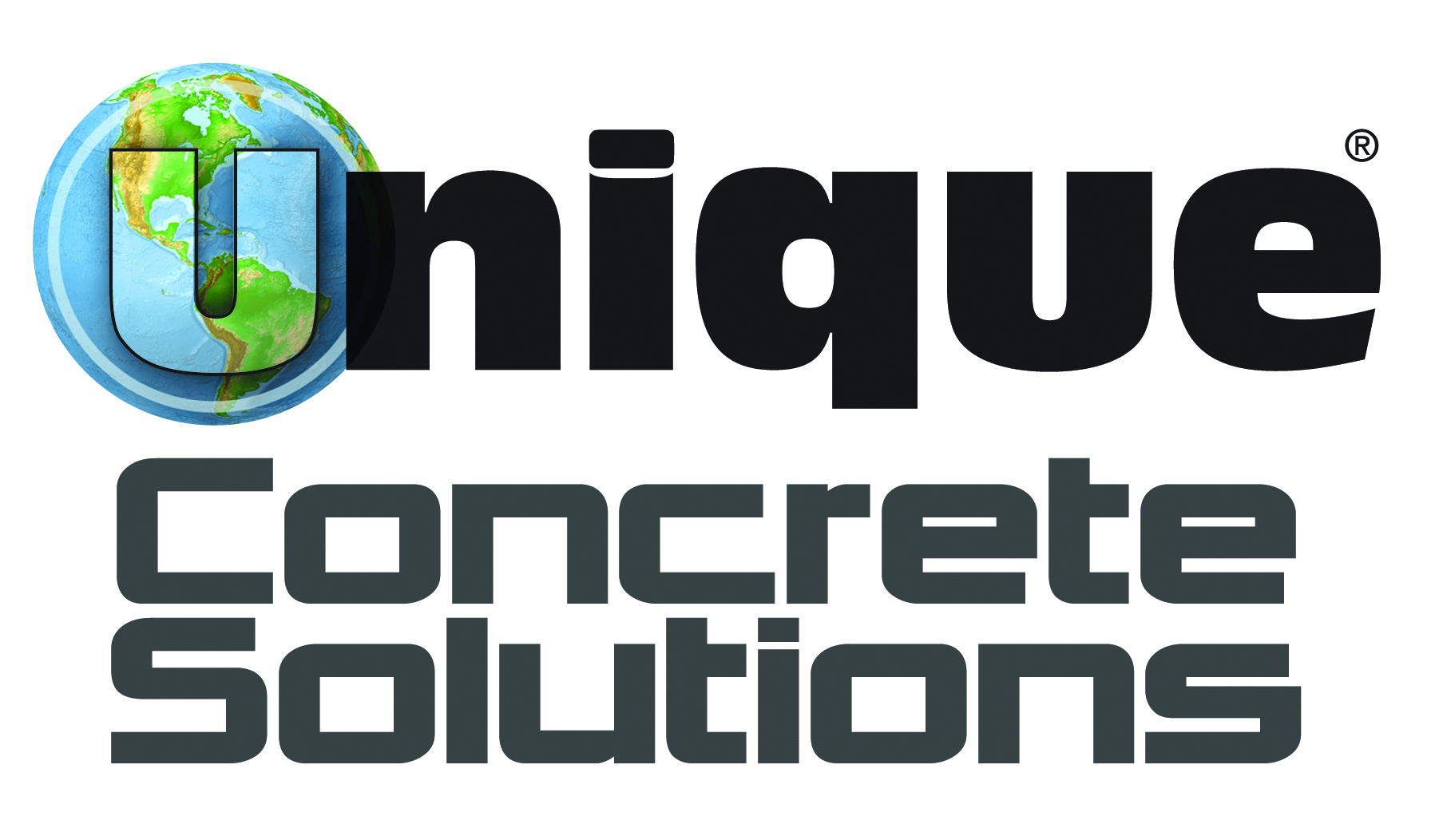 UNIQUE Concrete Logo