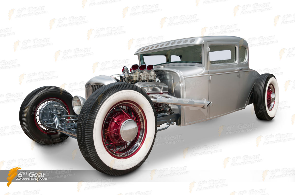 1930 5-window Ford Hot Rod
