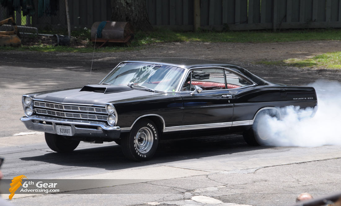 1967 Ford Galaxie 500 Burnout