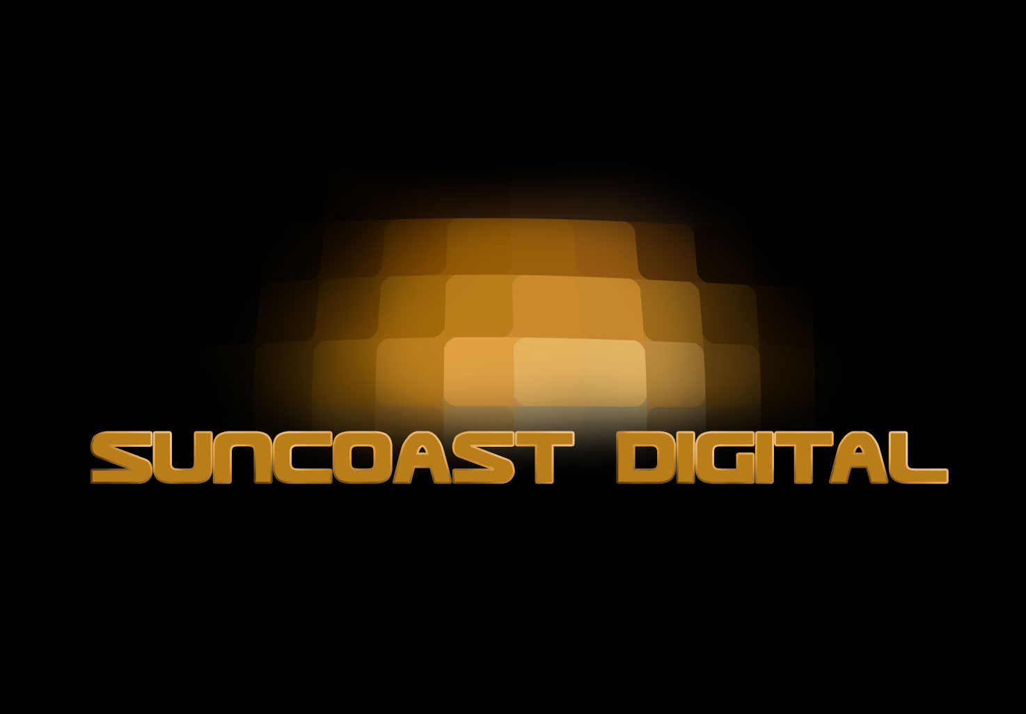 Suncoast Digital logo design
