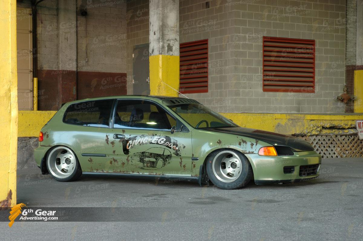 Rat Rod Honda Civic
